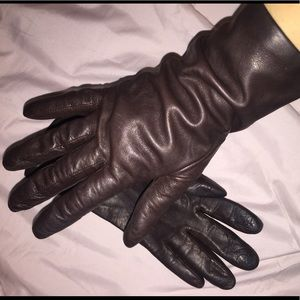 Accessories - Leather / Cashmere Gloves